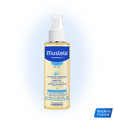 Mustela Baby Massage Oil