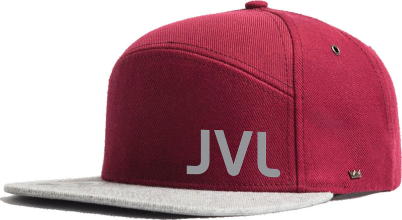 JVL Flat Peak Caps Adults