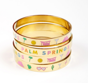 Palm Springs Bangle Bracelet