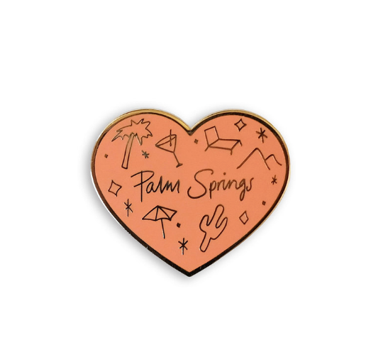 Palm Springs Love Pin