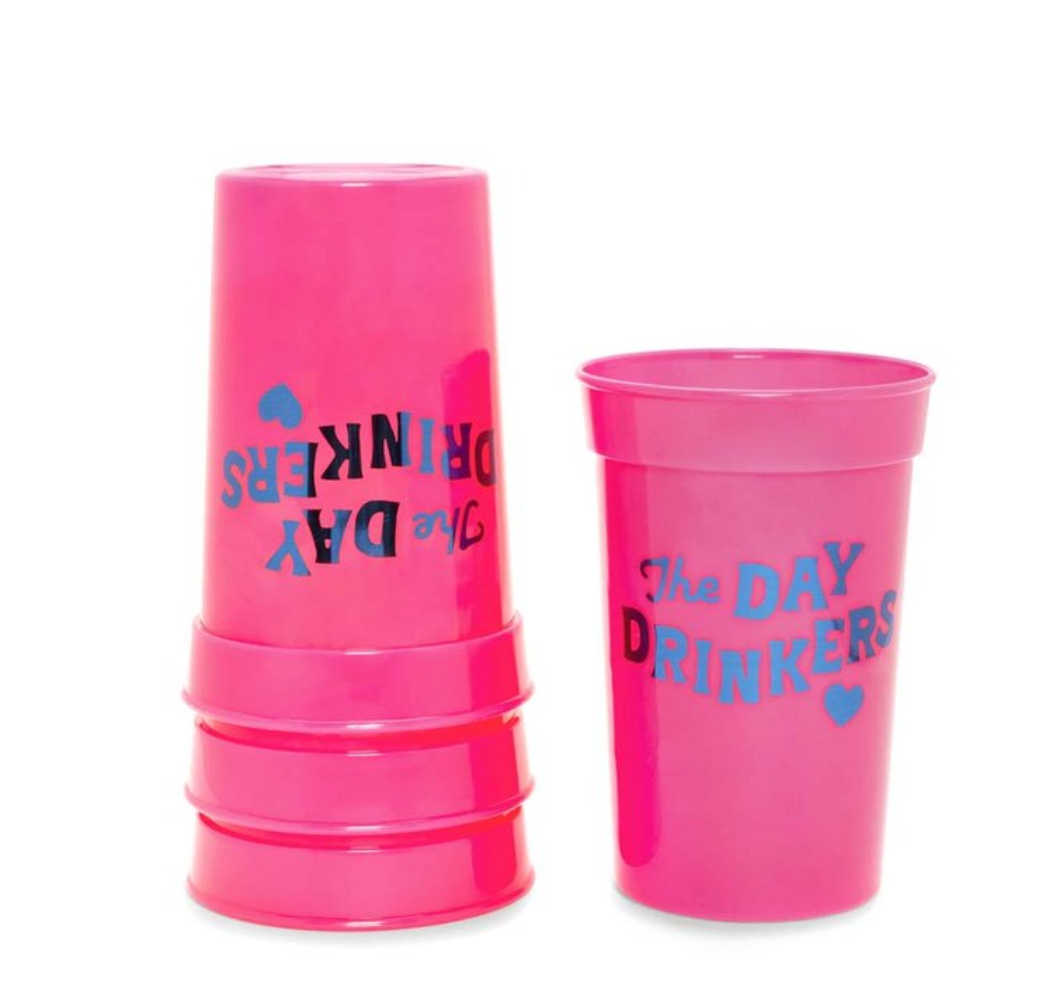 Day Drinkers Plastic Cups