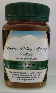 Five Finger Honey 500 gram