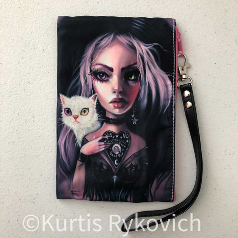 My Ghost Cosmetic Bag Wristlet
