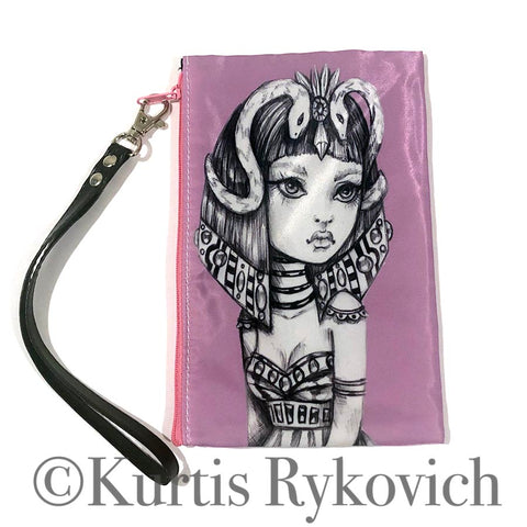 Cleopatra Cosmetic Bag Wristlet