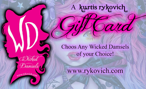 Wicked Damsel Gift Card