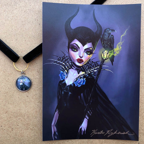 Maleficent Choker