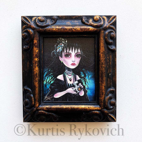 Lydia Deetz Mini Canvas Framed