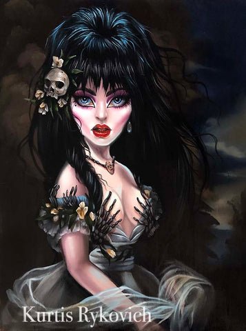 Elvira Mistress of the Dark - Print