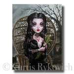 Morticia Canvas (Open Edition)