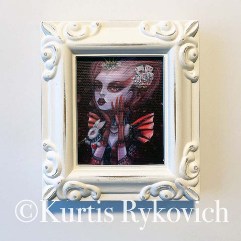 Queen of Hearts Framed Mini