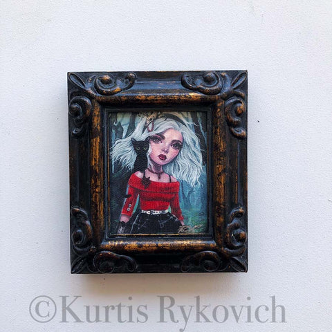 Sabrina Mini Canvas Framed