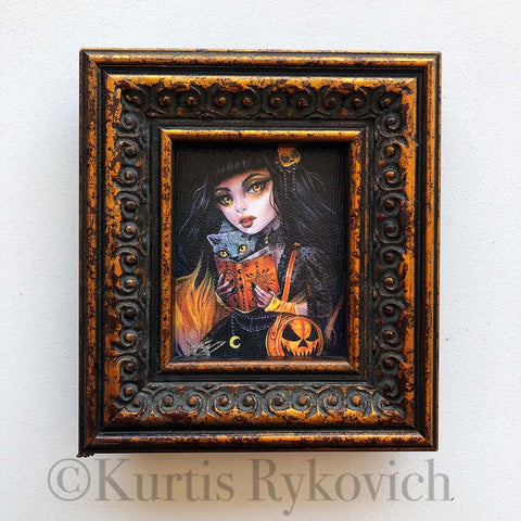 Salem Mini Canvas Framed