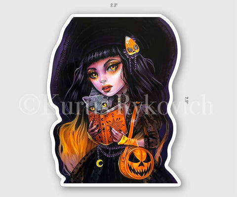 "Salem 3"" Sticker"