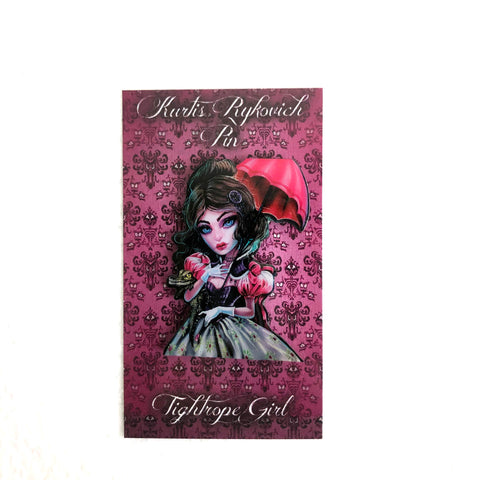 Tightrope Girl Collectors Pin