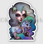 "Unicorn Keeper 4"" Sticker"