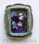 Vanessa Mini Canvas Framed
