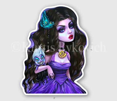 "Vanessa   4"" Sticker"
