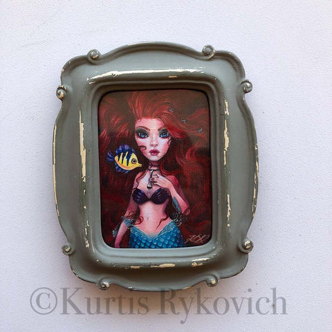 Ariel Mini Canvas Framed
