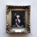 Elvira Mini Canvas Framed