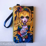Rainbow Brite Luxury Wristlet Wallet
