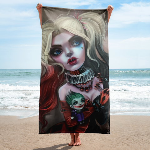 Harley Beach Towel