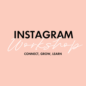 Instagram Workshop Ticket