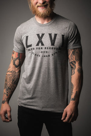 Awareness Tee (Grey): Drug LXVI