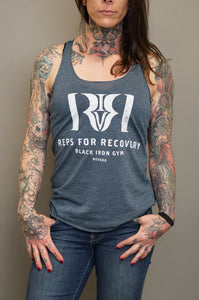 Reps 4 Recovery Tank in Indigo