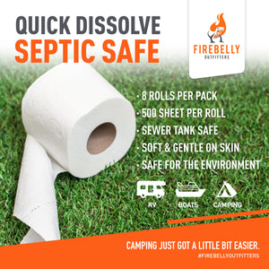 Septic Safe RV Toilet Paper (8 Count)