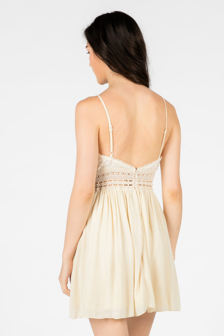 Ivory Laced Dress