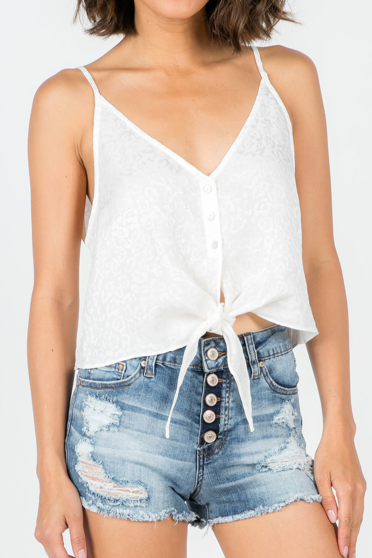 LOVE BITES KNOT TOP