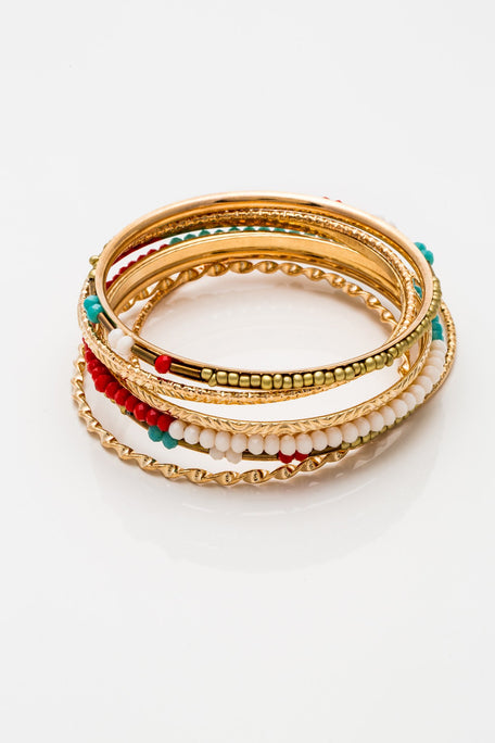 Accessories - BEADED BANGELS