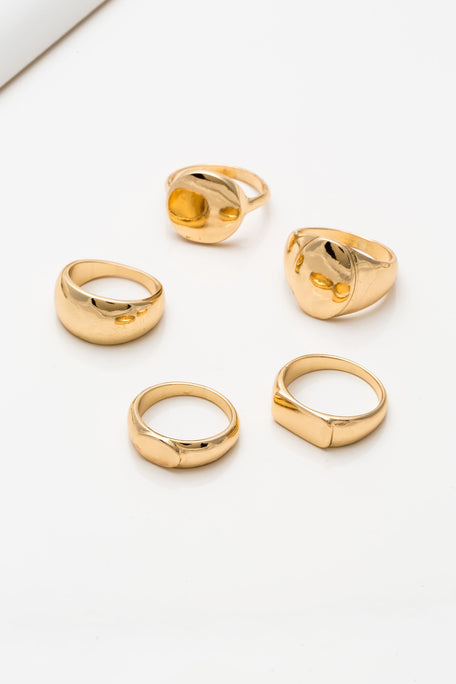 Accessories - BOLD RINGS SET