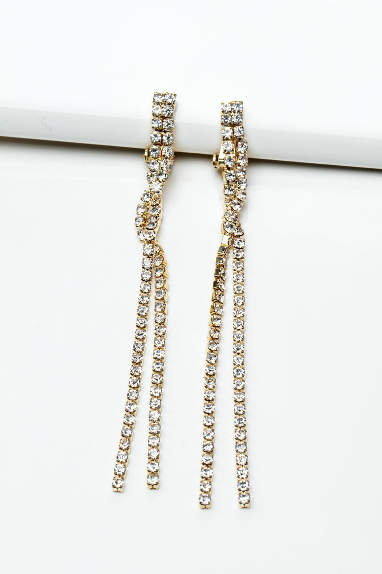 Accessories - BOUNDED DANGLE EARRINGS