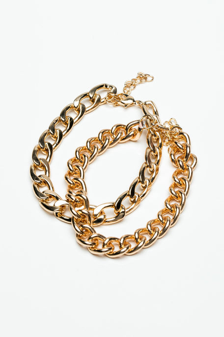 Accessories - CHAIN BRACELETS SET