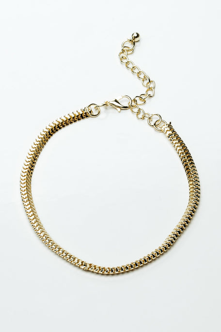 Accessories - CLASSIC SNAKE CHAIN ANKLET