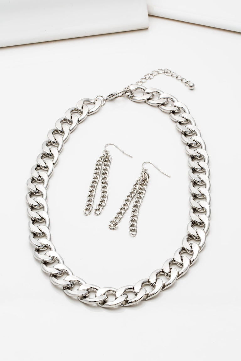 Accessories - CURB NECKLACE SET