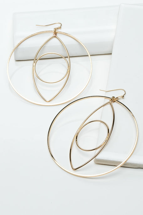 Accessories - EYE HOOK EARRINGS