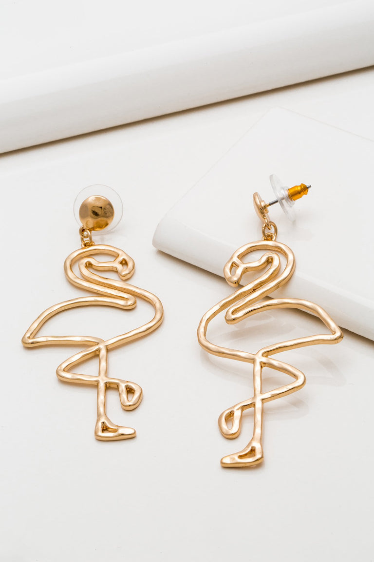 Accessories - FLAMINGO EARRINGS