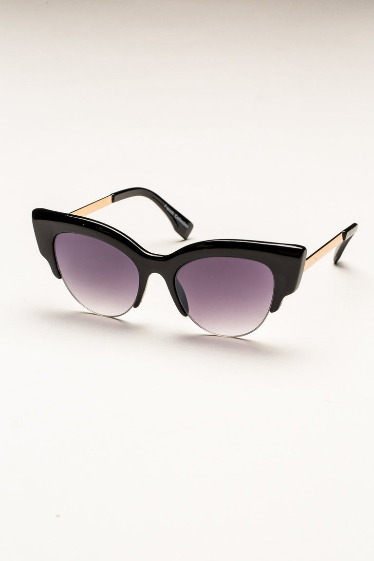 Accessories - LARGE CAT EYE SUNGLASSES
