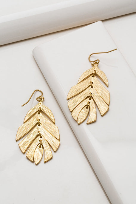 Accessories - LEAF EARRING