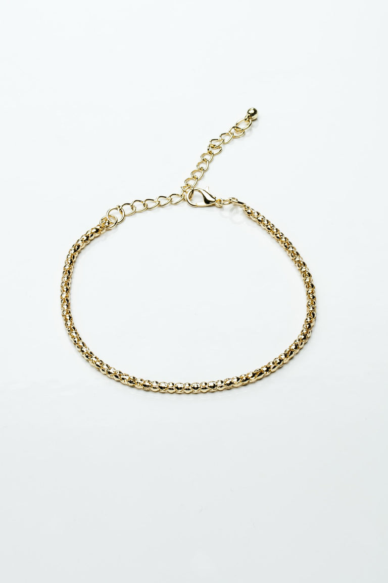 Accessories - LINKED BALL ANKLET
