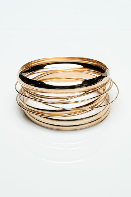 Accessories - MIXED BANGLE BRACELETS