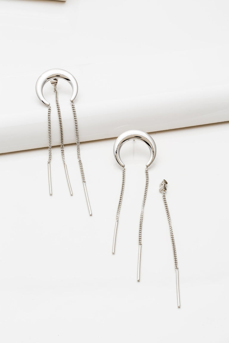 Accessories - MOON DROP EARRING