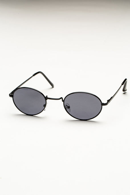 Accessories - OVAL FRAME SUNGLASSES