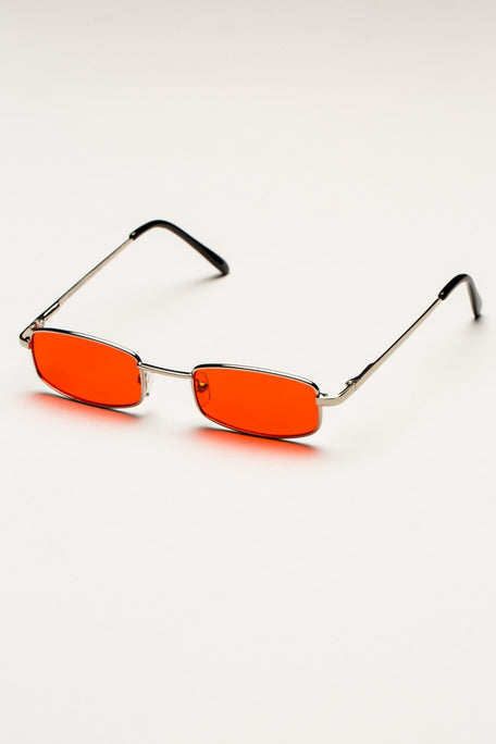 Accessories - SLIM RECTANGLE COLORED SUNGLASSES