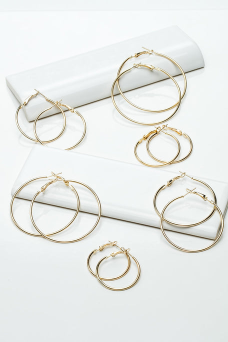 Accessories - SMALL CLASSIC HOOP SET