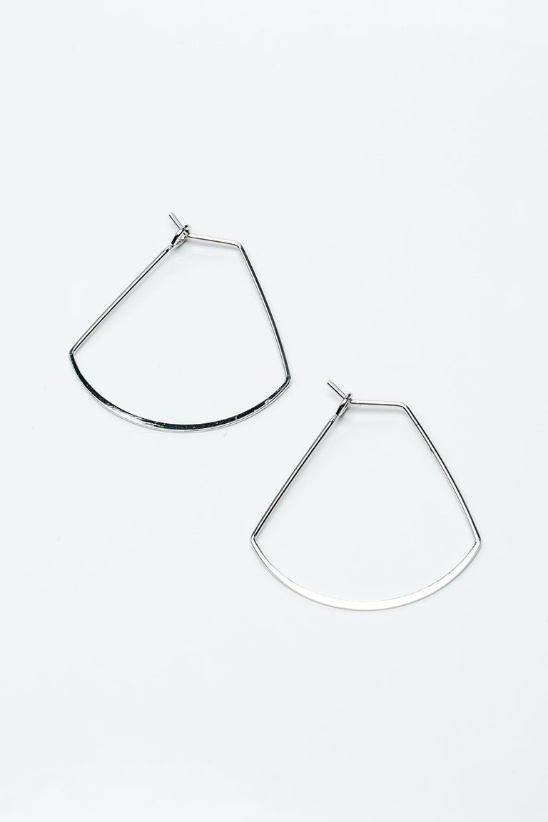 Accessories - TRAPEZOID HOOPS