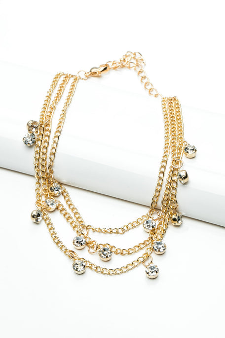 Accessories - TRIPLE STRAND ANKLET