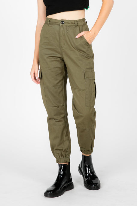 Bottoms - RUN THE WORLD CARGO PANTS